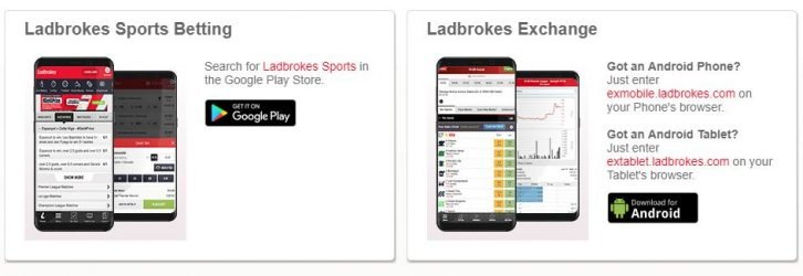 Ladbrokes mobile android
