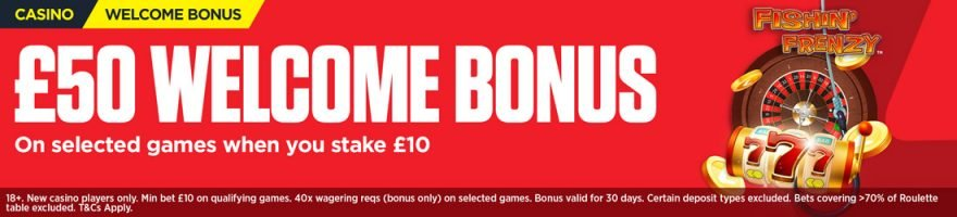 Ladbrokes new customer offer casino